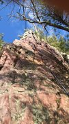 Rock Climbing Photo: Right side with tree