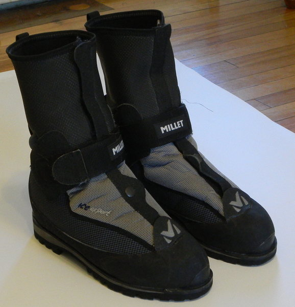 Rock Climbing Photo: Millet Ice Expert boots