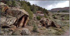 Rock Climbing Photo: Silk Sheet of Time problem beta.