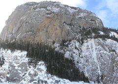 Rock Climbing Photo: Cap Trinite N face