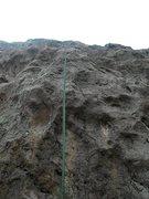 Rock Climbing Photo: Cold Turkey start