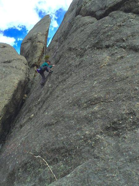 Rock Climbing Photo: Ryan emery on Make Believe