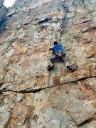 Rock Climbing Photo: Climbing at crowder's