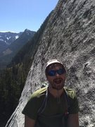 Rock Climbing Photo: Travis was clearly excited about the steeper set o...