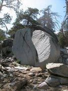 Rock Climbing Photo: Lightning Boulder, Tramway