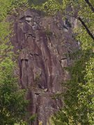 Rock Climbing Photo: View from the parking lot
