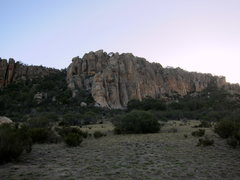 Rock Climbing Photo: Organ Pipes front and center, with Squeakeasy and ...