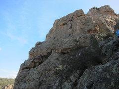 Rock Climbing Photo: From the Bluffs descent
