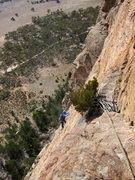 Rock Climbing Photo: Emma coming up pitch 4