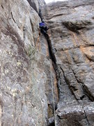 Rock Climbing Photo: Making it look good