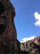 Rock Climbing Photo: AJ likes it.