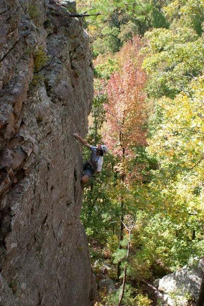 Rock Climbing Photo: Wormhole