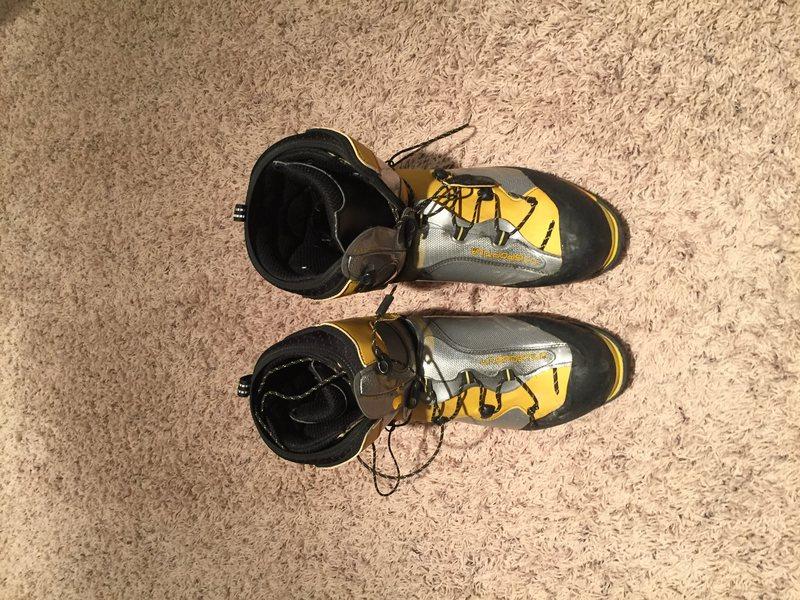 Rock Climbing Photo: La Sportiva boots 1