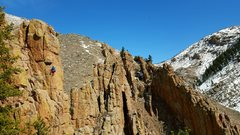 Rock Climbing Photo: The scenery at the Citadel is worth the hike, and ...