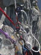 Rock Climbing Photo: Micro-Trax attachment
