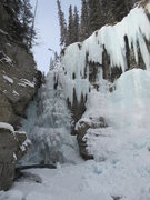 Rock Climbing Photo: Prism Falls