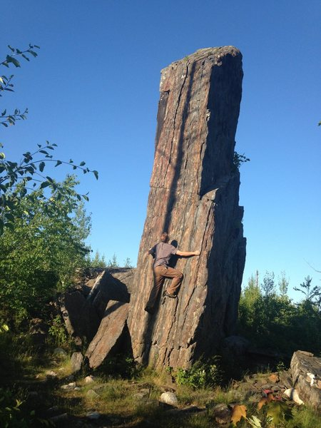 Rock Climbing Photo: I am currently exploring the possibility of a coup...