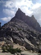 Rock Climbing Photo: ridge leading up to Rexford