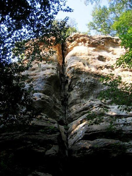 Rock Climbing Photo: Hawk's Beak