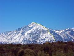 Rock Climbing Photo: Mount Tom North Ridge