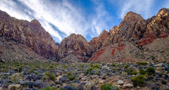 Rock Climbing Photo: Black Velvet Canyon from just beyond the parking a...