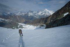 Rock Climbing Photo: Swiss alps