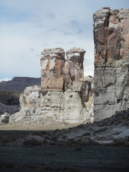 Organ Pipe Towers (South faces)
