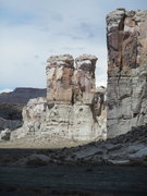 Rock Climbing Photo: Organ Pipe Towers (South faces)
