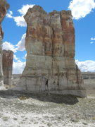 Rock Climbing Photo: North faces of Organ Pipe Towers