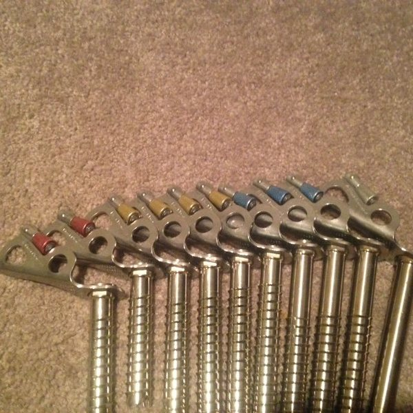 same screws