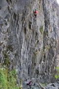 Rock Climbing Photo: My onsight :)