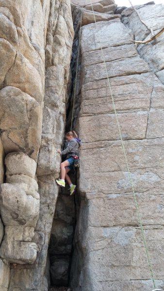 Kids Climbing Outer Darkness