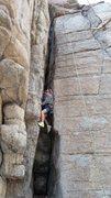 Rock Climbing Photo: Kids Climbing Outer Darkness
