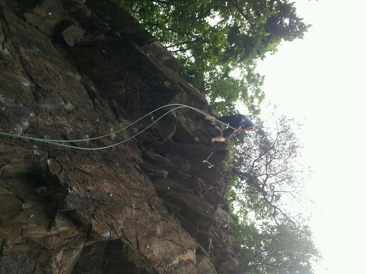 Rock Climbing Photo: I don't have a good picture of the area