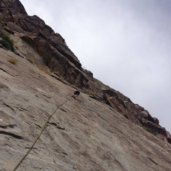 Rock Climbing Photo: Mike Fogarty, 2nd ascent