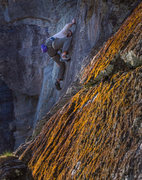 Rock Climbing Photo: Bill figuring out the bottom of the route.