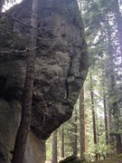Rock Climbing Photo: tallest face, could be a 2-3 bolted climb,