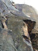 Rock Climbing Photo: Fun lead. I definitely regret slinging the stump t...