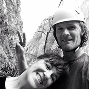 Rock Climbing Photo: Up at Timewave Buttress, enjoying the views of the...