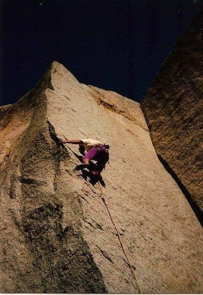 David Goode climbing Vector Analysis