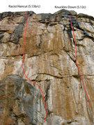 Rock Climbing Photo: The Marble Wall.