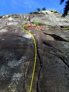 Rock Climbing Photo: Centerfold Topo (Pitch 1)