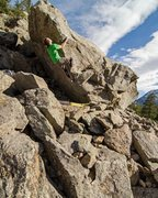 Rock Climbing Photo: Genghis Tron. Photo: M.Abbott