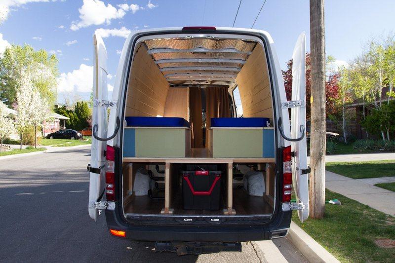 Back of Van