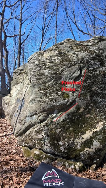 Lunch Rock in Bolton, MA.