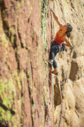 Rock Climbing Photo: The Rail after the layers of cruxes is a moment to...