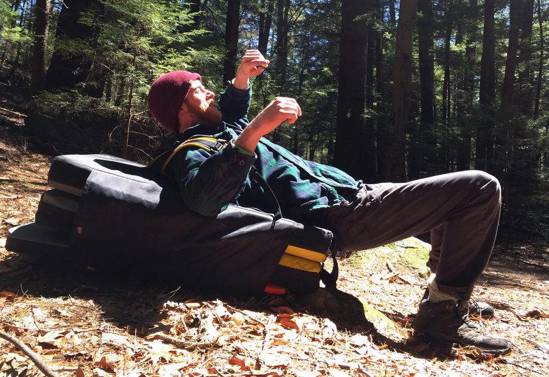 Rock Climbing Photo: The Ground-Up Method