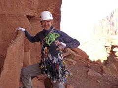 "Rock Climbing Photo: I call him ""Herman"".  Worth bringing to ..."