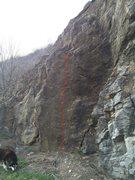 Rock Climbing Photo: My girl Daphne