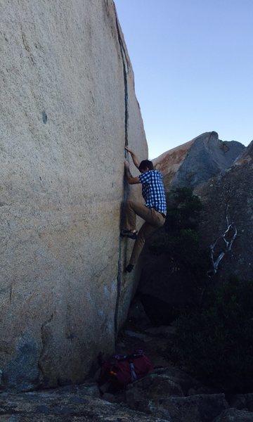 Rock Climbing Photo: #warminupmaggots